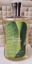 BATH & BODY WORKS Rainkissed Leaves Shower Gel 10 oz Signature Collection NEW