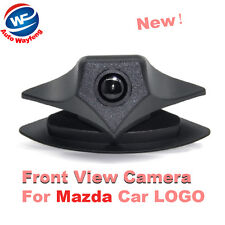 Car Front View Camera for for Mazda Logo Front Camera Mazda 2 3 5 6 8 CX-7 CX-9