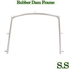 "Rubber Dam Frame Small 4"" x 4"" Dental Instruments"