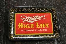 Vintage Miller High Life Beer Tip Tray