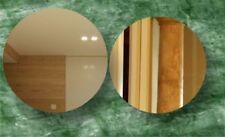 Espejos decorativos de pared redonda para el dormitorio