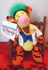 """Disney Bean Bag Mad Scientist Tigger 9"""" New With Tags, Fast Shipper"""