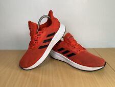 ADIDAS DURAMO 9 Men's Red Trainers Size UK 7