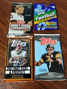 1993, 2006, 2007, 2009 NFL Football 4 pack special - see details