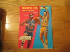 Walt Frazier Jerry west Lakers Knicks Sports Illustrated May 7 1973