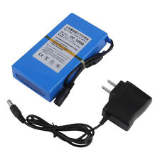 DC12V 9800mAh Super Rechargeable Li-ion Battery US Plug Battery Pack LE