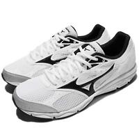 Mizuno Maximizer 20 Wide White Black Men Running Shoes Trainers K1GA1800-10