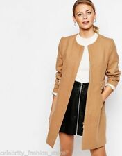 Oasis Polyester Hip Casual Coats & Jackets for Women