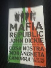 Mafia Republic, John Dickie, paperback