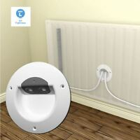 Radiator Pipework Air Barrier Part L Compliant  / Central Heating Pipe Tidy