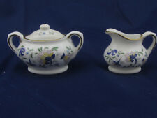 Coalport Pageant Floral Bone China Mini 2 Piece Lot Sugar & Creamer