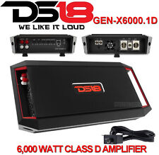 Ds18 Gen-X6000.1D Mono Subwoofer Amplifier 6000 Watt Class D Monoblock Car Amp
