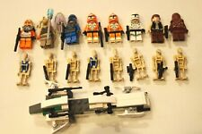 Lego Star Wars Minifigure Lot Clone troopers Battel droids and more