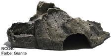 Höhle in Felsotik - Farbe: Granite - Grösse: 39x21x13 cm - Schlangenhöhle