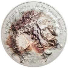 Cook Inseln - 25 Dollar 2018 - Aconcagua - Seven Summits (3.) - 5 Oz Silber ST