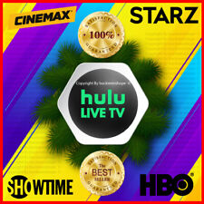 Hulu Premium 🎥 Live Tv No Ads + Hbo | Showtime | Starz | Cinemax No Commercials