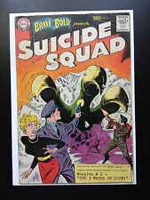 Brave and the Bold #25 DC Comic Book 1st Appearance SUICIDE SQUAD 1959 Key Issue
