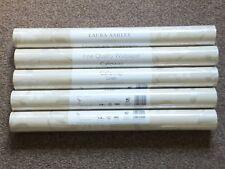 LAURA ASHLEY Calloway Linen Wallpaper Rolls Batch No: W061447-A/1 SOLD PER ROLL