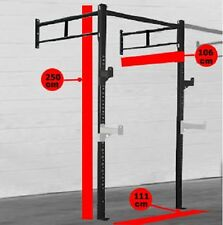 CrossFit Rig Cage Wall Mounted Power Rack Gym Fitness Equipment