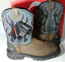 WOLVERINE RANCH KING CM MEN'S CARBON TOE WORK BOOT, W10932