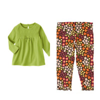 Gymboree Fall For Autumn 12-18-24 mo 2T 3T Outfit Squirrel Daddy Green 2011