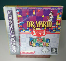 DR. MARIO & PUZZLE LEAGUE 2 IN 1 - NINTENDO GAME BOY ADVANCE - NEU - SEALED