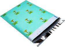 "10 - Palm Tree - 10"" x 13"" Poly Mailers - Self Sealing Envelopes Bags Designer"