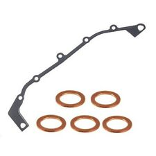 Engine Timing Cover Gasket and 5 Oil Drain Plugs Reinz For: BMW E39 E46 E85
