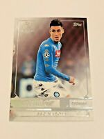 2016-17 Topps UEFA Champions League Showcase - Jose Callejon - SSC Napoli