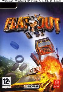 FlatOut PC Game 2005 Windows XP Vista 7 8 10 11