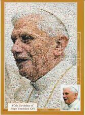 Tuvalu Pope Benedict Xvi. Block (MNH)