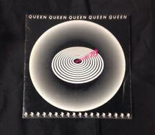 "1979 Queen ""Jazz"" Concert Program U.S.A Tour Freddie Mercury Brian May"