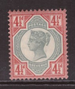 Queen Victoria 1887 Jubilee 4½d SG 206 MINT NEVER HINGED MNH