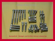 SUZUKI RF900 / RF600 - Schrauben Edelstahlschrauben Schraubensatz Motorschrauben