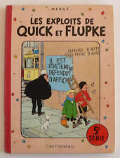 Les exploits de Quick et Flupke 5 ème série (Français) Album