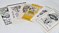 Press-book Lot Various Years Hell Squad Thats Entertainment Telegraph Hill Marco
