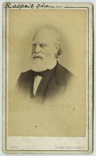 CDV 1870-80. Le chimiste, botaniste et homme politique François-Vincent Raspail.