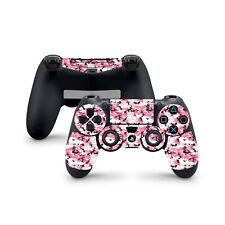 PS4 Controller Skin Wrap PINK CAMO Decal Sticker Dualshock 4 Pro Slim Pad Pinky