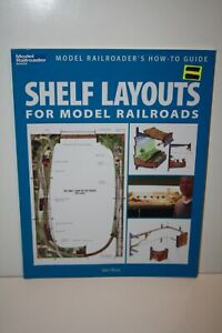 Kalmbach  Model Railroader Books, Shelf Layouts For Model Railroads