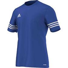 adidas Mens T Shirt Short Sleeve Top Entrada 14 Football Gym Sports Jersey S-2xl Blue 2xl
