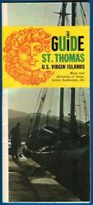 St. Thomas, U.S. Virgin Islands Guide Incl Maps And Directory Of Businesses 1967