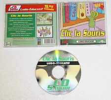 CLIC LA SOURIS Ludo-Educatif sur PC / Mac
