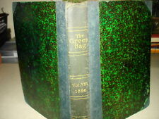 1896 THE GREEN BAG: AN ENTERTAINING MAGAZINE FOR LAWYERS Vol 8 HB NR