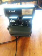 Polaroid 600 One Step Flash Instant Film Camera with Strap