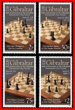 Gibraltar 2012 CHESS SC#1310-13 MNH FV£3.07/CV$10.00 SPORTS, JUDAICA