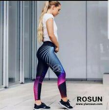Ladies Women Fitness Gym Leggings Running Exercise Yoga Training LargeFREE POST