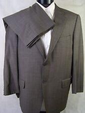 Joseph Abboud Suit Mens Gray Glen Check Wool Size 42S
