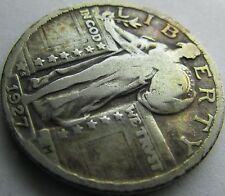 1927-S VF- (Fine+) Standing Liberty Quarter in a SAFLIP®