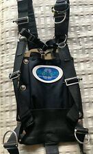 Halcyon Stainless Backplate with Dive Rite Harness, Stainless D-Rings, Shoulder