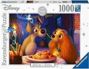 Ravensburger - Disney Moments 1955 Lady and Tramp Jigsaw Puzzle (1000 Pieces) 13